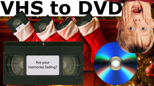 VHS to DVD Transfers North Bay Ontario services